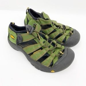 Keen Green outdoor water shoes size 2